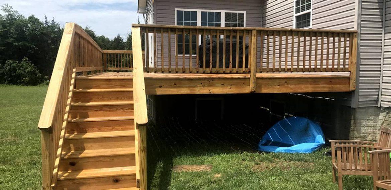 Deck Soft Washing Bealton VA